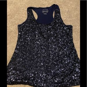 Super Sparkly Sequined Tank Top